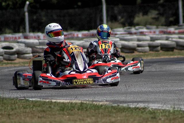 ROTAX BUENOS AIRES - Giuliano Pereson quinto en Zarate.