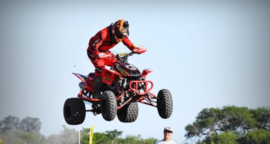 ENDURO DEL VERANO: Federico Alvira con su quads será parte de la mega competencia este fin de semana.