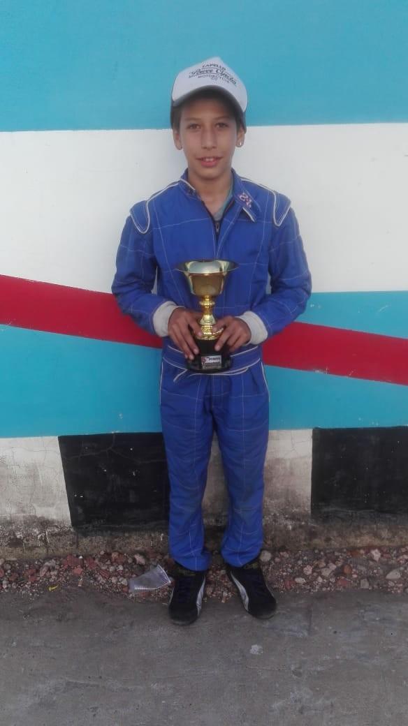 KARTING ENTRERRIANO - Buen quinto puesto para Lucas Passerini en la primera fecha