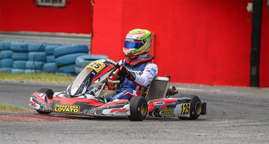 COPA IAME SERIES: Giuliano Pereson fue invatible en Buenos Aires