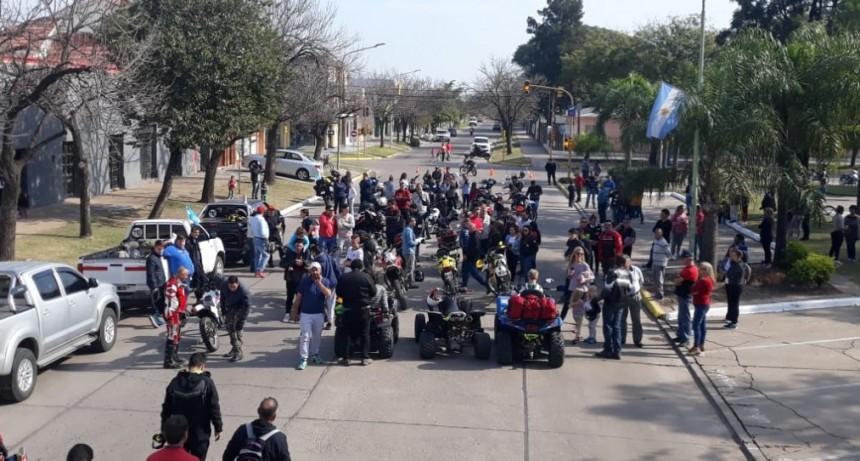 EL ENDURO SOLIDARIO PARTIÓ DESDE AVELLANEDA