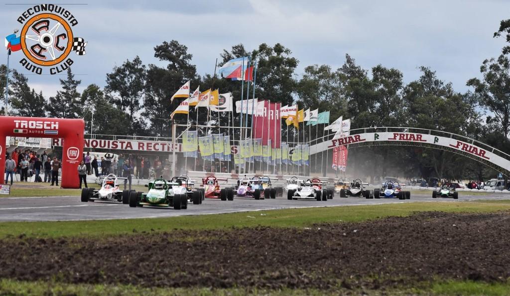 FORMULA DEL NORESTE TITULARES - Emanuel Magnago triunfo y se anota firmemente en el campeonato