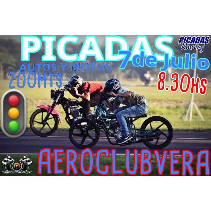 PICADAS - El aero club de la ciudad de Vera tendrá su fecha de aceleración este domingo 7 de Julio