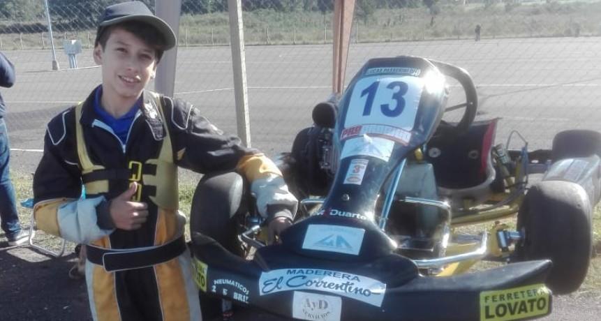 AZKRU -  Lucas Passerini presto para una nueva fecha