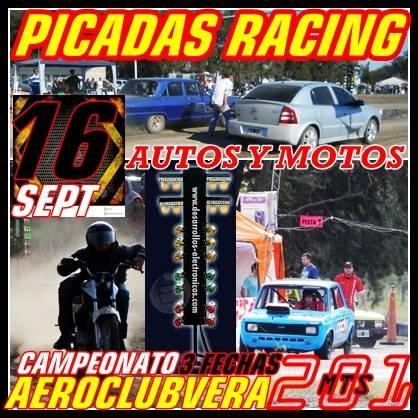 DOMINGO 16 DE SEPTIEMBRE, PICADAS EN VERA !!!