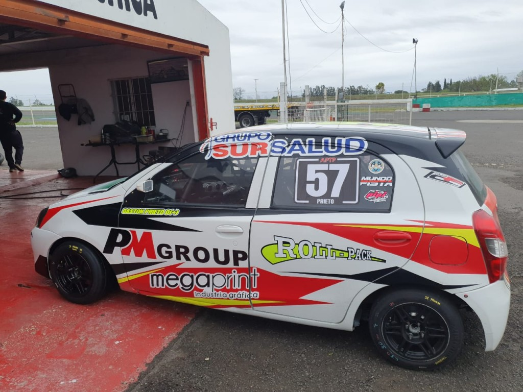 TURISMO PISTA - Gaston Prieto, listo para una nueva competencia este fin de semana.