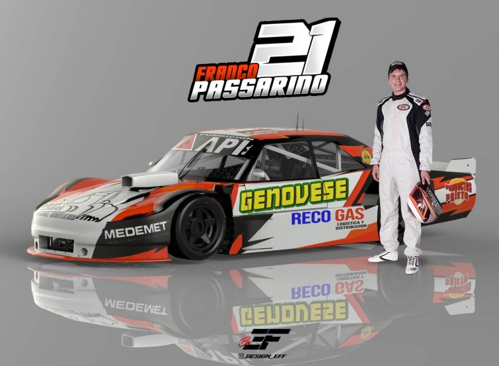 TC PISTA MOURAS - Podio para el piloto de Romang, Franco Passarino