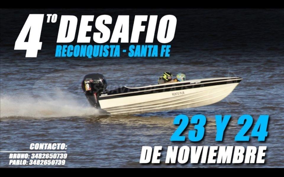 PICADAS DE LANCHAS - Este fin de semana será el cuarto evento del riacho San Jerónimo en puerto Reconquista