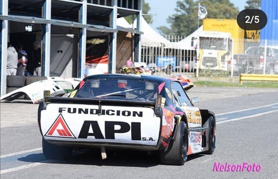 TC PISTA MOURAS - Franco Passarino saco adelante un fin de semana que se complico el sábado.