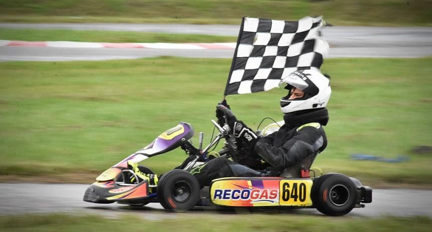 KARTING NORESTE SANTAFESINO - Gaspar Chansard volvió al karting y se llevo todo en la categoría PRO