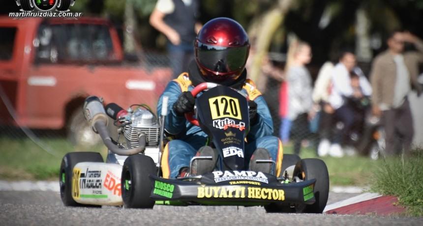 KARTING NORESTE SANTAFESINO - Mauri Buyatti se subió a lo mas alto del podio en los Master