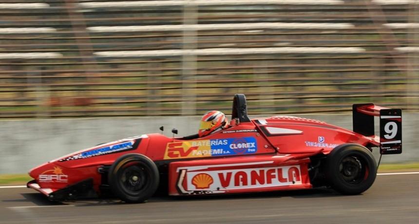 FORMULA 3 SANTAFESINA: Zuberbuhler volvió a ganar y se mantiene como líder en el campeonato