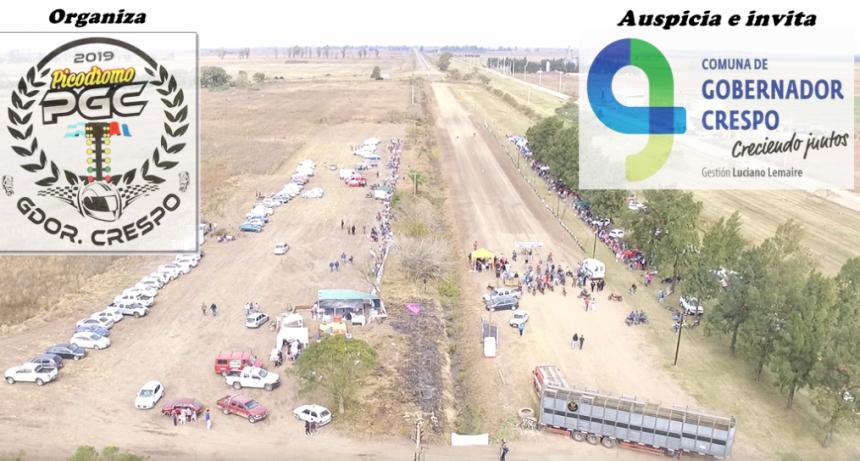 PICADAS - Gobernador Crespo tiene todo listo para el evento de picadas con mas convocatoria de toda la provincia.